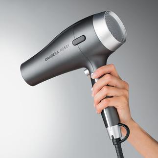 CARRERA Haartrockner No 531 Schneller, leichter und schonender für Kopfhaut und Haar.
