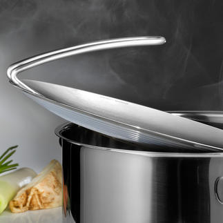 mono multitop Kochdeckel Passend für fast alle Töpfe. Und weit mehr als nur ein Deckel.
