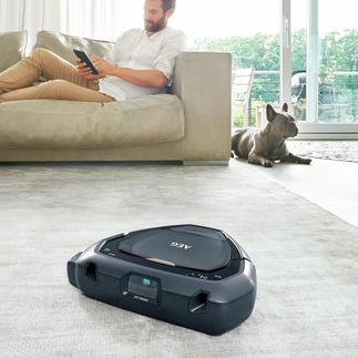 AEG Saugroboter RX9 I X 3D Vision Reinigt optimal auch Ecken und Winkel. Navigiert per fortschrittlicher 3D-Vision™-Technologie.