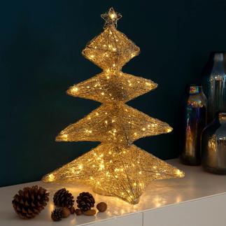 Weihnachtsbaum-Leuchte Ihre eleganteste Weihnachtsdekoration – wie von Elfenhand gezaubert.