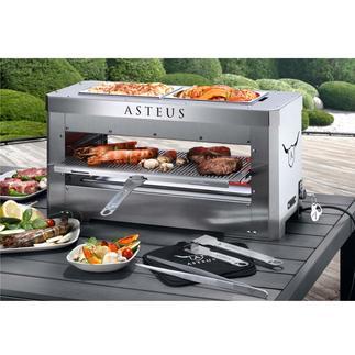 Asteus® Steaker oder Asteus® Family Der wohl heißeste Elektro-Grill Deutschlands. Endlich auch für den Indoor-Gebrauch.
