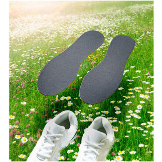 CLEANFEET Anti-Geruchs-Sohlen, 3 Paar Bio-aktive Einlegsohlen neutralisieren Fußgeruch – statt ihn zu überdecken.