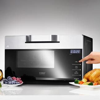 Inverter-Kombi-Mikrowelle IMCG25 Selten zu finden: die Mikrowelle mit Grill, Heißluft und moderner Inverter-Technologie.