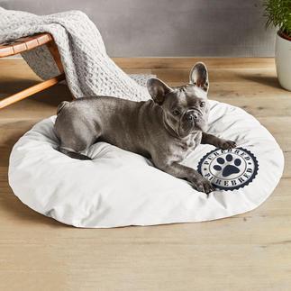 Zirben-Hundekissen oder -Katzenkissen Wellness für Vierbeiner: kuschelige Schlafkissen mit Schafwolle und natürlicher Zirbe.