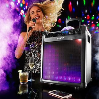 Portables Bluetooth Sound & Light-System Klangstark wie nie: das kabellose Sound & Light-System für Ihre Partys, Gartenfeste, ...