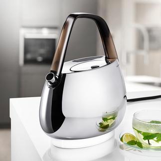 Bugatti® Design-Wasserkocher Außen Design-Objekt, innen Hightech: der Wasserkocher von Bugatti®.