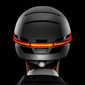 Smart-Helm Livall BH51M oder Livall BH62 Der Fahrradhelm neuester Generation: Noch sicherer durch Rücklicht, Blinker, Warnlicht und SOS-Funktion.