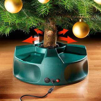 Elektrischer Christbaumständer So einfach, schnell und perfekt haben Sie Ihren Tannenbaum noch nie aufgestellt. Ganz allein. Einfach per Knopfdruck.