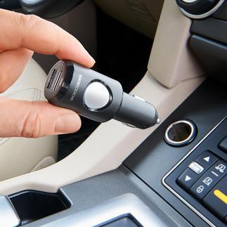 Notruf-System Das Notrufsystem für Gebrauchtwagen. Ohne teure Nachrüstung. Ohne Einbau. Kann bei einem Unfall Leben retten.
