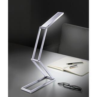 LED-Akku-Falt-Leuchte Kompakt und kabellos: Die extrem vielseitige LED-Falt-Leuchte mit Akkubetrieb. Ideal auch für Unterwegs, auf Reisen, beim Camping, im Garten, ...