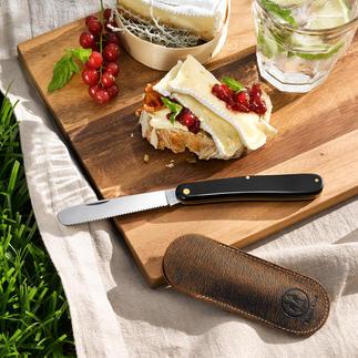 Taschen-Obst-/ Brötchenmesser Unterwegs die perfekte Begleitung: das Brotzeit-Klappmesser im Taschenformat.