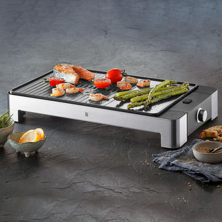 WMF Design-Tischgrill LONO Alles, was Sie von einem Premium-Tischgrill erwarten. In edlem Cromargan®-Design von WMF.
