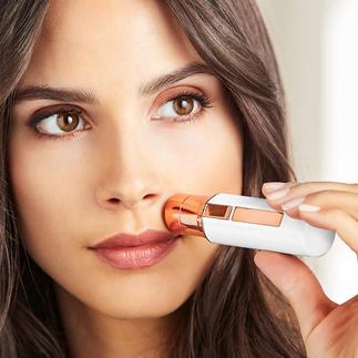 Gesichts- oder Augenbrauenrasierer Roxy Pocket Shaver Gesichtsenthaarung gründlicher, schneller, schonender – immer und überall.  Jetzt auch für die perfekten Augenbrauen.