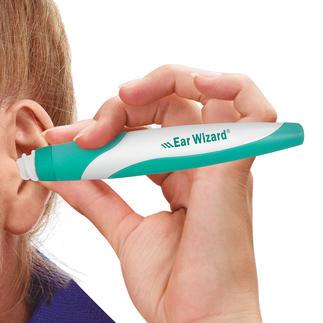Ear Wizard Ohrenreiniger Sanfte Ohrenreinigung im Handumdrehen. Verringert das Verletzungsrisiko. Und kein Schmutz wird tiefer ins Ohr gedrückt.