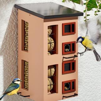 Dreifach-Futterspender Schwedisches Design bietet abwechslungsreiche Kost unter einem Dach.