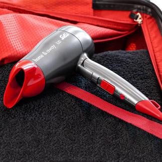 Solis Kompakt-Haartrockner Home & Away Die Power größerer Haartrockner. Im ultrakompakten (Reise-)Format.