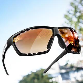 UVEX Sonnenbrille Sportsstyle 706 Kombiniert automatische Scheibentönung mit kontrastverstärkender FarbfilterTechnologie.
