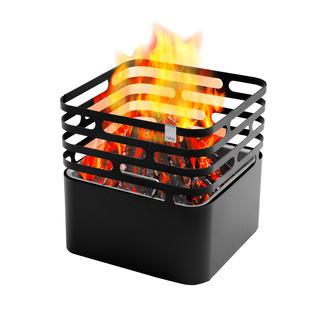 Cube Feuerkorb Der Feuerkorb mit genialem Dreh: einfach kopfüber abstellen – schon sauber gelöscht.