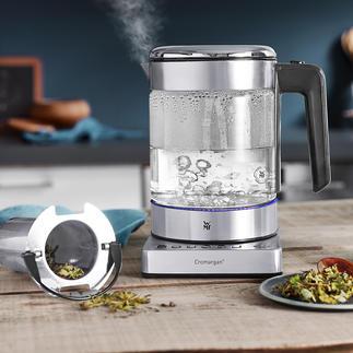 WMF KÜCHENminis® Wasserkocher Vario Ultrakompakt. Energiesparende Temperaturwahl. Edles Design. Der platzsparende 1-l-Wasserkocher. Ideal auch für perfekt aufgegossenen Tee.