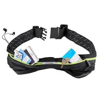 Flex-Sportgürtel Alle Wertsachen gut geschützt am Körper – und nichts wippt, klappert oder stört.