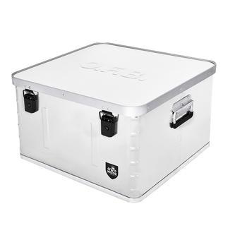 Aufbewahrungsbox Praktische Aufbewahrungs- und Transportbox aus Aluminium.