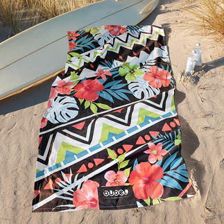 Bubel Bade-/Strandtücher Trendiges Design, High-End Nanotech-Gewebe: die Strand/Badetücher von Bubel, Barcelona.
