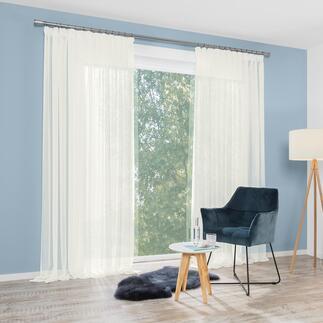 Store/Gardine Moyo - 1 Stück Blickdichter als ein Store. Transparenter als ein Vorhang.