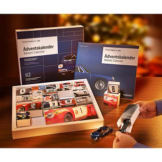 Adventskalender Bausatz Porsche 911 Tägliche Freude: der Adventskalender mit Bausatz des legendären Porsche 911.