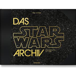 """Buch """"Das Star Wars Archiv"""" Die XXL-Dokumentation zum wohl größten Kino-Kosmos aller Zeiten. Reich bebildert und mit detaillierten Hintergrund-Informationen."""