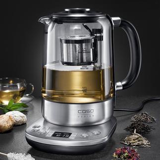 Gourmet-Tee-Automat Der intelligente Tee-Automat: bereitet die unterschiedlichsten Tee-Spezialitäten auf den Punkt. Vollautomatisch.