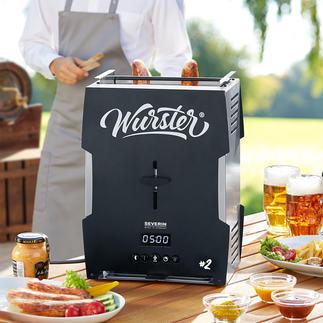 Würstchen-Toaster 2.0 Knusprig-braune Grillwürste. In 5 Minuten. Auf Knopfdruck.