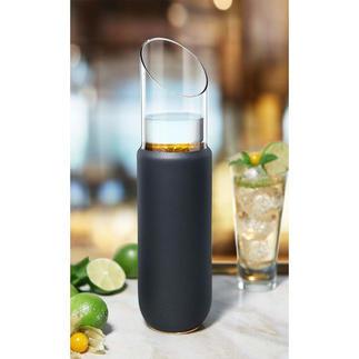 Karaffe Eisch Kostbares, mundgeblasenes Kristallglas – von Hand beschichtet mit 24-karätigem Gold.