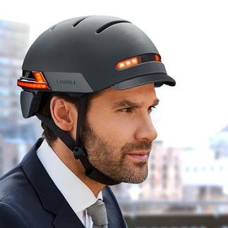 Smart-Helm Livall BH51M Neo oder Livall BH62 Smart, stylish, sicher. Mit Freisprech-Einrichtung und Bluetooth-Fernbedienung.