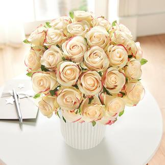 Rosenstrauß Üppige Pracht von unvergänglicher Schönheit: das Bouquet aus 25 Premium-Edelrosen.