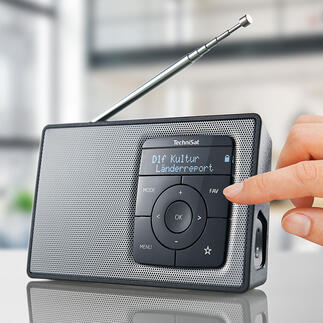 TechniSat DIGITRADIO 2 Mit Akku (statt Batterien) und Bluetooth-Streaming. Qualität made in Germany.