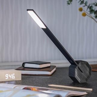 Tischleuchte Octagon One Gezieltes Licht in minimalistischem Design: waagerecht, senkrecht, 5-fach abwinkelbar.