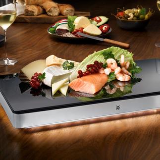 WMF Kühl- und Warmhalteplatte Ambient Selten zu finden: Warmhalte- und Kühlplatte in einem. Im Gastro-Format von WMF.