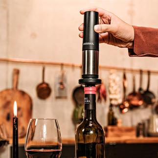 Gastroback Aroma-Weinverschluss Die Inertgas-Methode der Profis: hält geöffnete Weine bis zu 3 Wochen frisch.