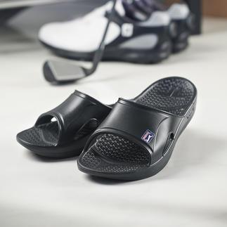 Telic Regenerations-Sandale Ihre beste Regenerations-Pantolette. Von Telic, USA. Offizieller Partner der PGA TOUR.