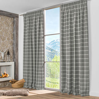 Vorhang Checky Aurelia - 1 Stück Karo: traditionsreiches Muster mit hohem Trendfaktor.
