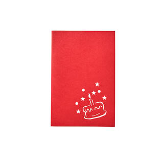Popup-Karten, 6er-Set Handgefertigte Popup-Grußkarten: Papierkunst, die Tradition und Moderne vereint.  Von Fedrigoni/Italien.