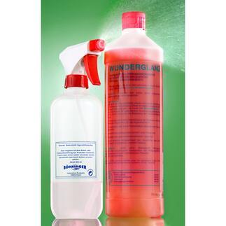 Reiniger Wunderglanz, 1000 ml Der Universal-Reiniger mit Selbstreinigungs-Effekt. Ideal für empfindliche Materialien.