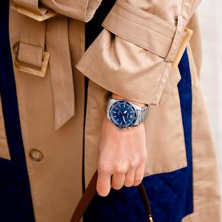 Seiko Kinetic Armbanduhr Läuft bis zu 100-mal länger als herkömmliche Automatik-Uhren. Mit 6 Monaten Gangreserve. Für Damen und Herren.