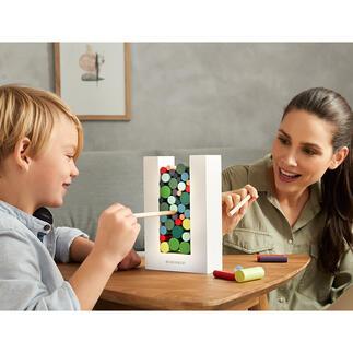 WoodmanGeschicklichkeitsspiel Spannendes Geschicklichkeitsspiel und dekoratives Designobjekt zugleich. Erfordert Konzentration, eine ruhige Hand – und bleibt nach dem Spielen einfach auf dem Tisch.