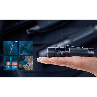 2.500Lumen-Taschenlampe Ultrahell, kompakt und nahezu unzerstörbar: die Taschenlampe fürs Leben.