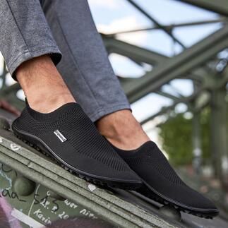 Barfuß-leguano®Slipper Gesund und entspannend wie Barfußlaufen: Der sommerleichte Stretch-Slipper von leguano®. Für Damen und Herren.