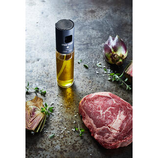 Öl-Zerstäuber mit Filter Dank Spezialfilter ideal für aromatisierte Öle und Essige, für Würzsaucen, Salatdressings, ...