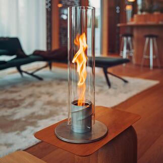 Flammenwirbel SPIN Der patentierte Flammenwirbel SPIN vergrößert die Flamme um das Fünffache.