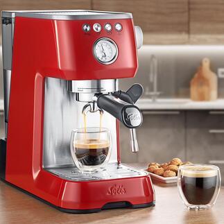SolisBaristaPerfettaPlus Die Technik professioneller Espressomaschinen – im Ultrakompakt-Format.