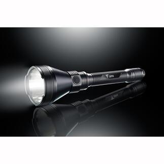 5.000Lumen Powertaschenlampe Die Lichtrevolution im Kompaktformat: 5.000 Lumen Lichtstrom, 1,8 km Leuchtweite. Exklusiv bei Pro-Idee.